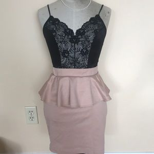 F21 Peplum skirt size M - Free with purchase!